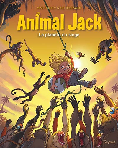 Animal Jack T. 3 : La planète de singes